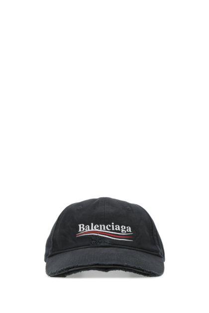 Slate cotton baseball cap