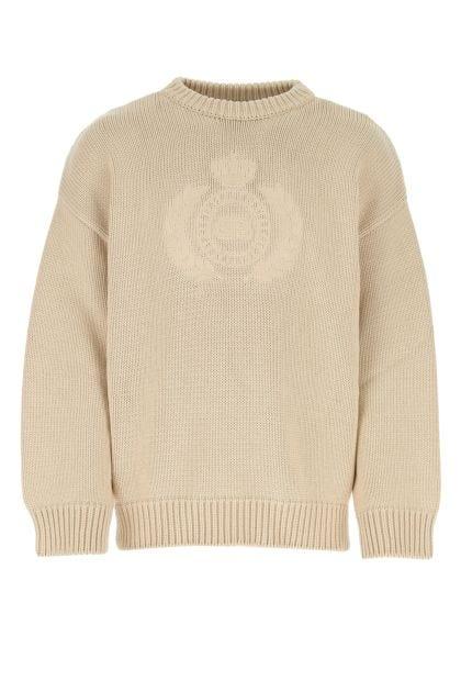 Cappuccino cotton sweater
