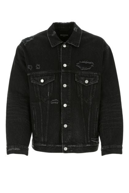 Slate denim oversize jacket