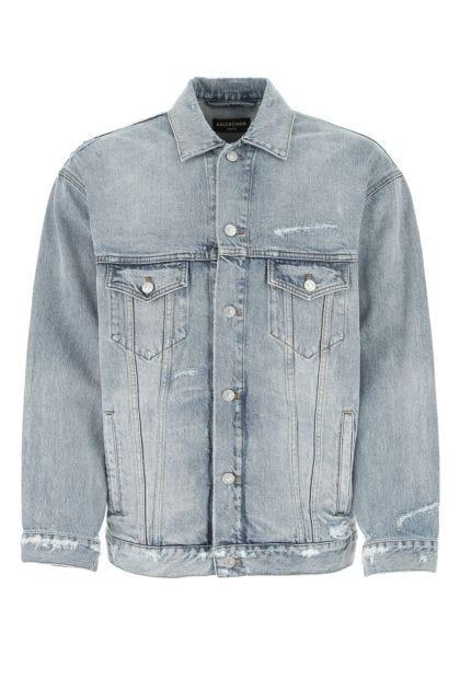 Denim oversize jacket