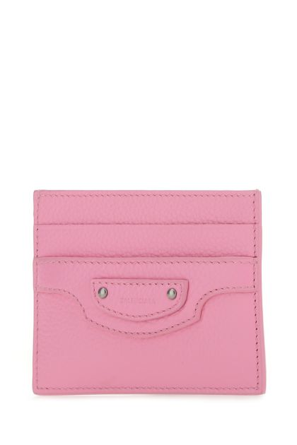 Pink leather Neo Classic card holder