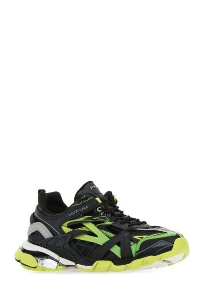 Multicolor mesh and nylon Track 2.0 sneakers