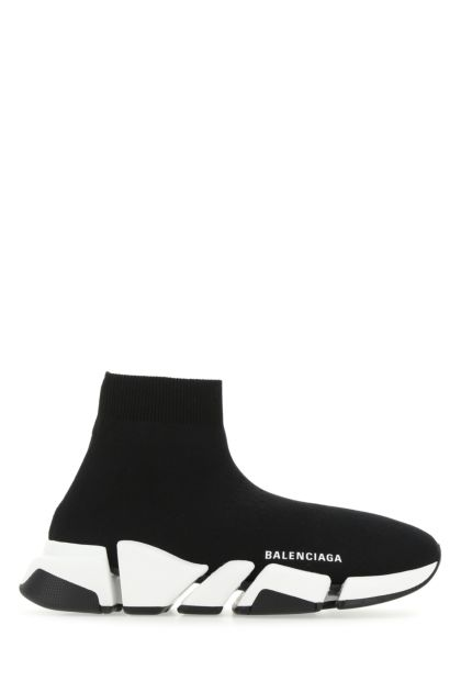 Black stretch fabric Speed 2.0 sneakers