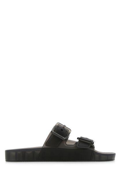 Slate rubber Mallorca slippers