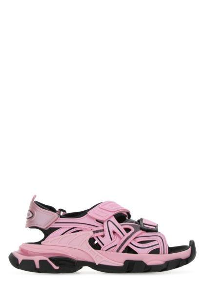 Multicolor neoprene and rubber Track sandals
