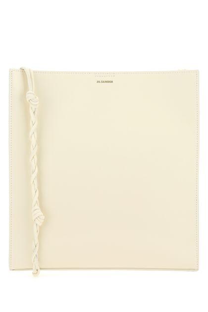 Ivory leather medium Tangle shoulder bag