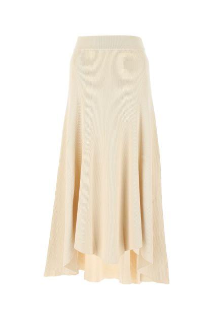 Sand cotton skirt