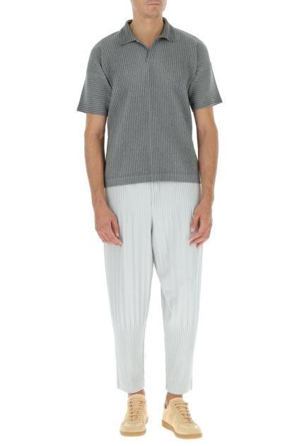 Light grey polyester pant