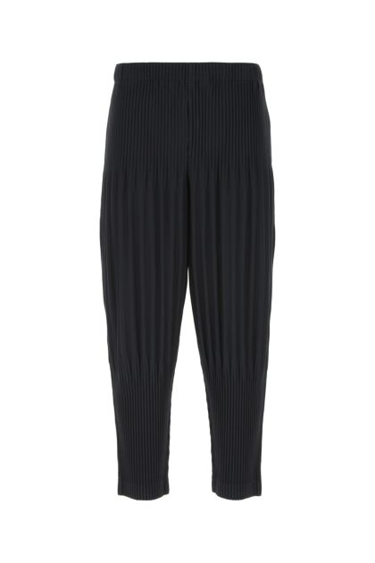 Midnight blue polyester pant