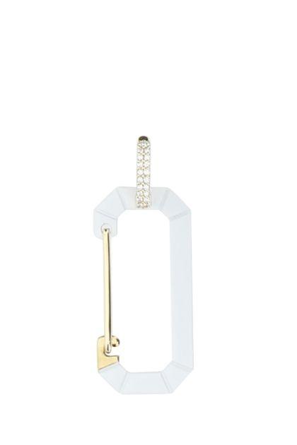 925 silver large Chiara earring