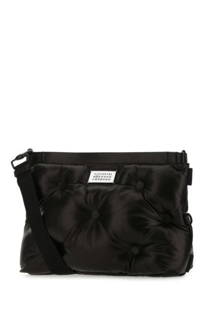 Black nappa leather Glam Slam crossbody bag