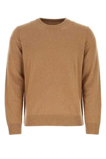 Biscuit cashmere sweater