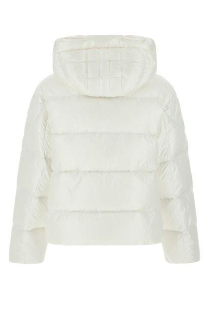 White nylon Tilly down jacket