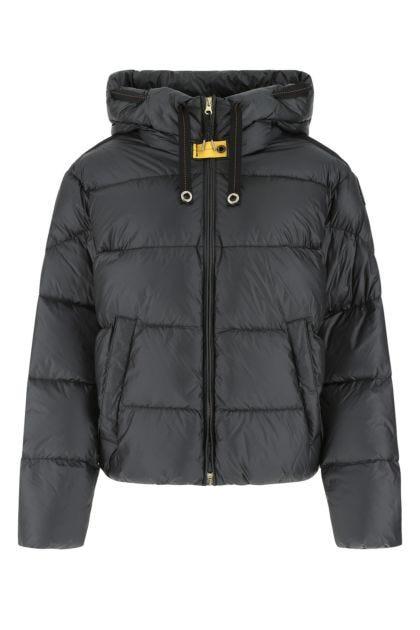 Slate nylon Tilly down jacket