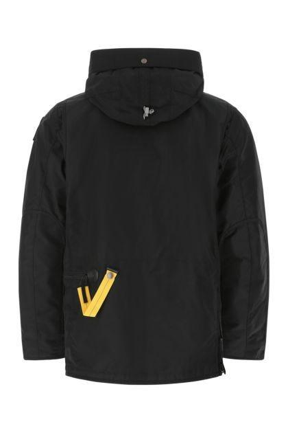 Black nylon Right Hand down jacket