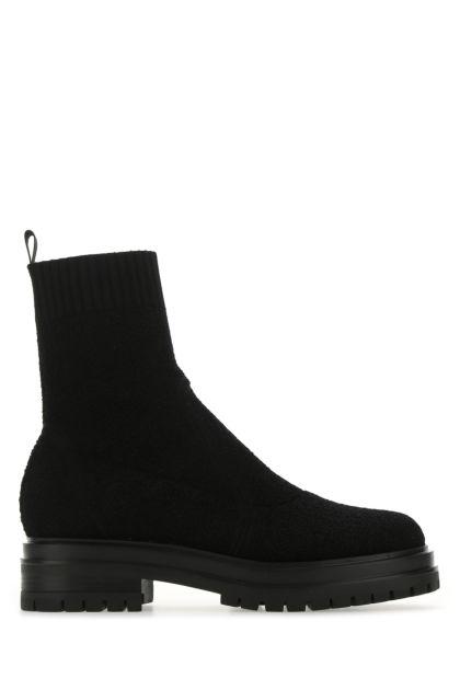 Black bouclé Torrance boots