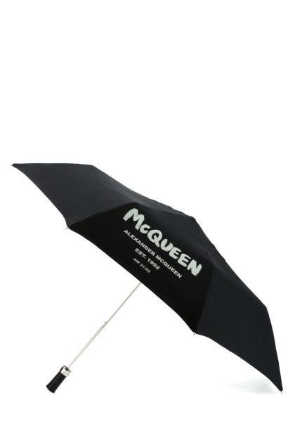Black polyester umbrella