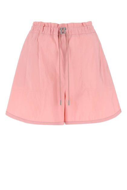 Pink polyester shorts