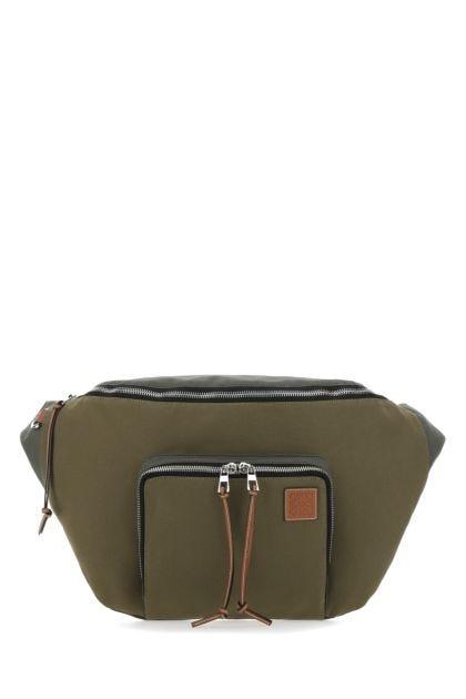 Multicolor canvas Paula's Ibiza XL belt bag