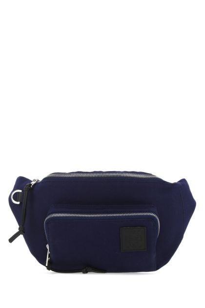 Blue canvas Paula's Ibiza belt bag