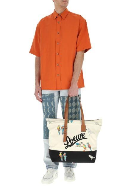 Printed canvas Paula's Ibiza handbag