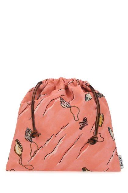 Printed fabric Paula's Ibiza small Shell Pouch pouch