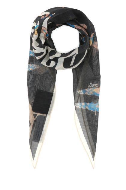 Printed cotton blend Paula's Ibiza foulard