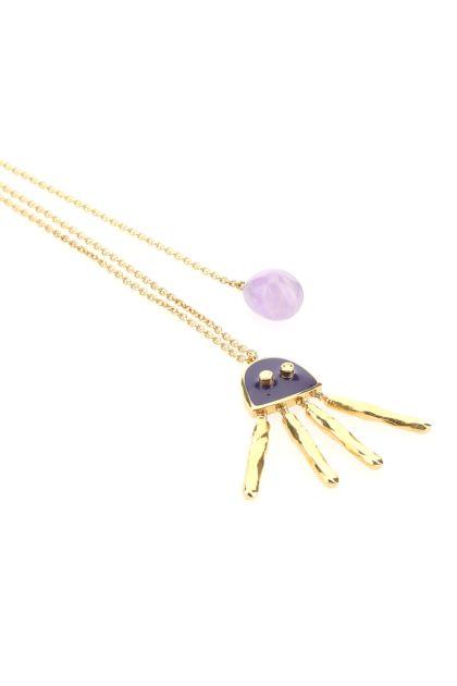 Gold metal Paula's Ibiza necklace