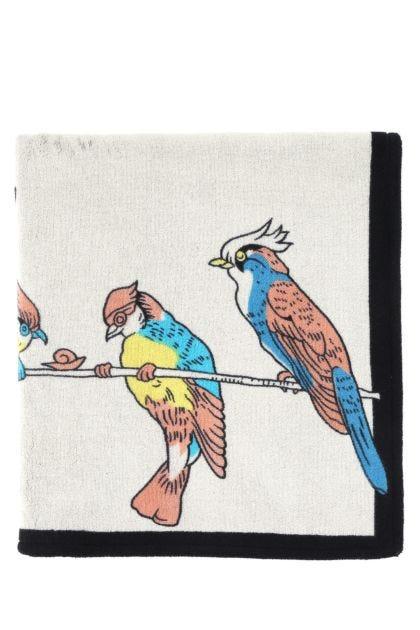 Two-tone cotton Paula's Ibiza beach towel