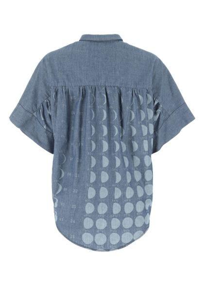 Printed denim Paula's Ibiza shirt
