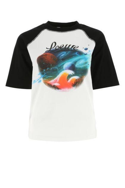Two-tone cotton Paula's Ibiza t-shirt