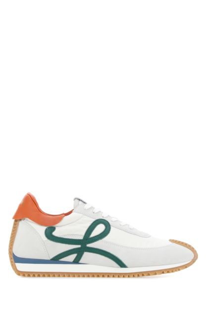 Multicolor suede and fabric Paula's Ibiza Ballet Runner sneakers