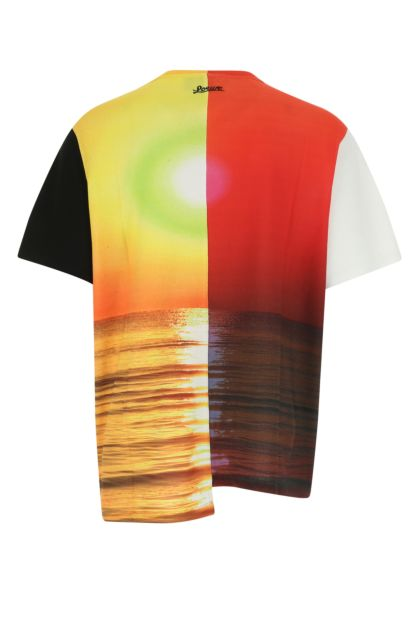Printed cotton Paula's Ibiza oversize t-shirt