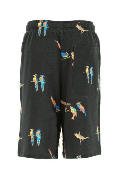 Printed cotton Paula's Ibiza bermuda shorts