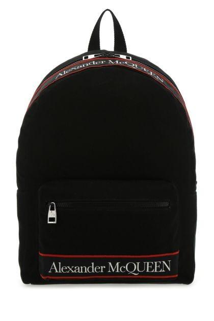 Black canvas Metropolitan Selvedge backpack