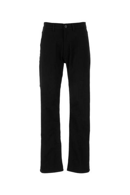 Black stretch denim jeans