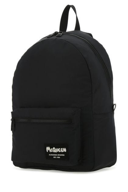 Black nylon Metropolitan backpack