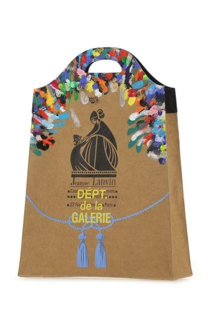 Embellished paper Grocery shopping bag