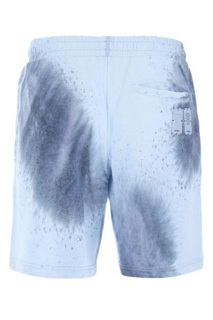 Multicolor cotton bermuda shorts