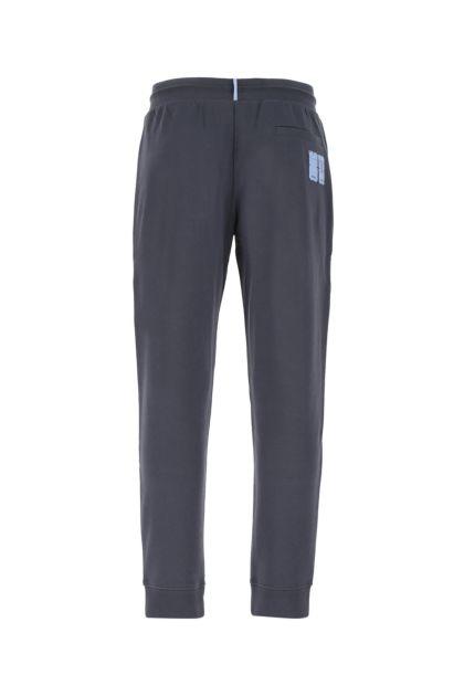 Navy blue cotton joggers