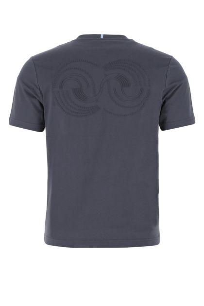 Navy blue cotton t-shirt