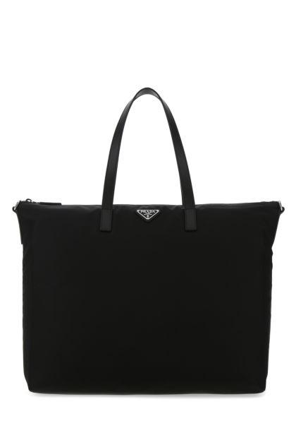 Black Re-nylon handbag