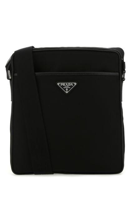 Black Re-nylon crossbody bag