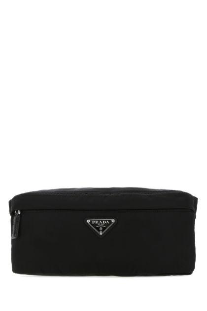 Black Re-nylon belt bag