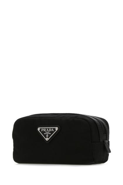 Black Re-Nylon beauty case