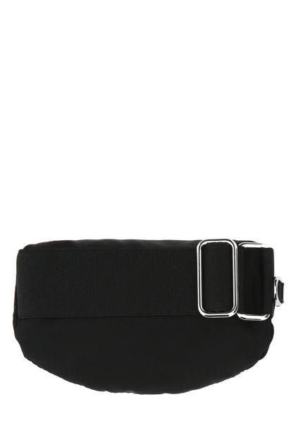 Black nylon wrist pouch