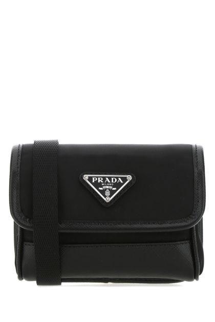 Black nylon Re-Nylon pouch