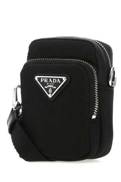 Black Re-Nylon pouch