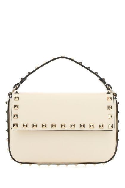 Ivory leather Rockstud handbag