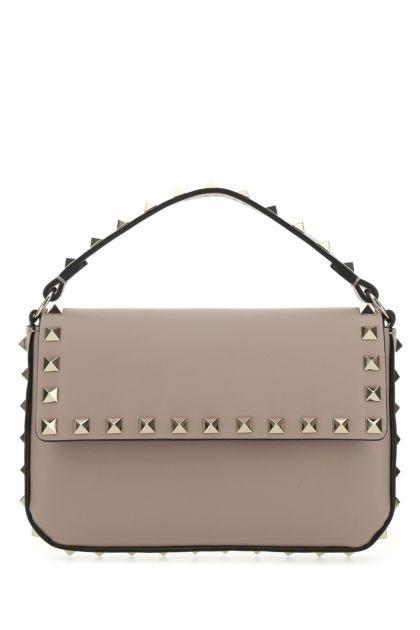 Antiqued pink leather Rockstud handbag
